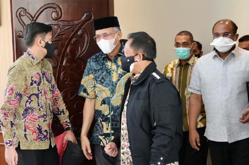 Lantik Nova Iriansyah, Mendagri Tiba di Aceh