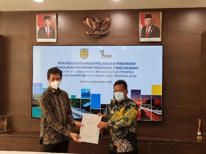Banda Aceh Dapat Fasilitas PEN 60 Miliar dari Menkeu RI