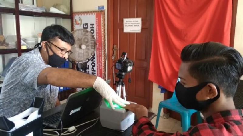 Hari Sabtu, Disdukcapil Kota Banda Aceh tetap Lakukan Perekaman KTP Elektronik