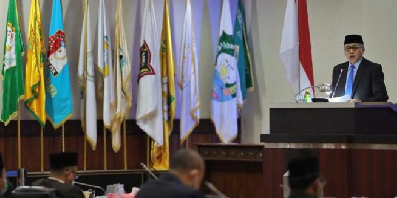 Gubernur Aceh Sampaikan Jawaban atas Pendapat Banggar DPRA terhadap Raqan APBA 2021