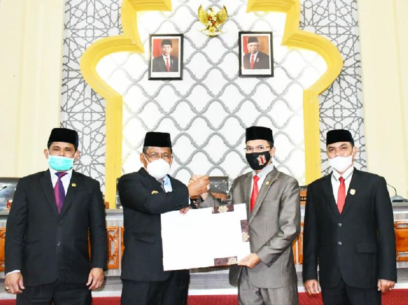 Raqan ABPK Banda Aceh 2021 Sebesar 1,3 Triliun Lebih, Semua Fraksi DPRK Setuju