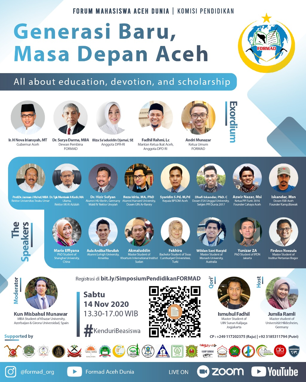 Forum Mahasiswa Aceh Dunia Gelar Kenduri Beasiswa