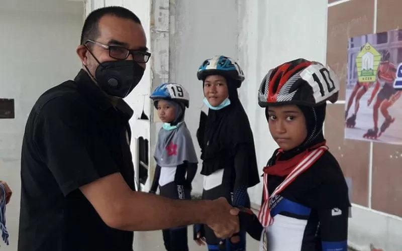 Porserosi Aceh Siapkan Dua Atlet Sepatu Roda di PON Papua