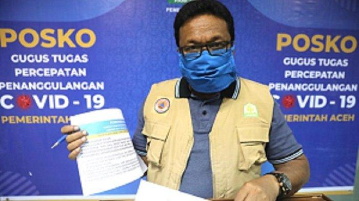 Pasien Sembuh 95 Orang, Kabupaten Bireuen dan Aceh Singkil Zona Merah Covid-19