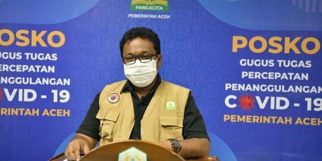 Kabar Baik, Kasus Positif Covid-19 di Aceh Trend Terus Menurun