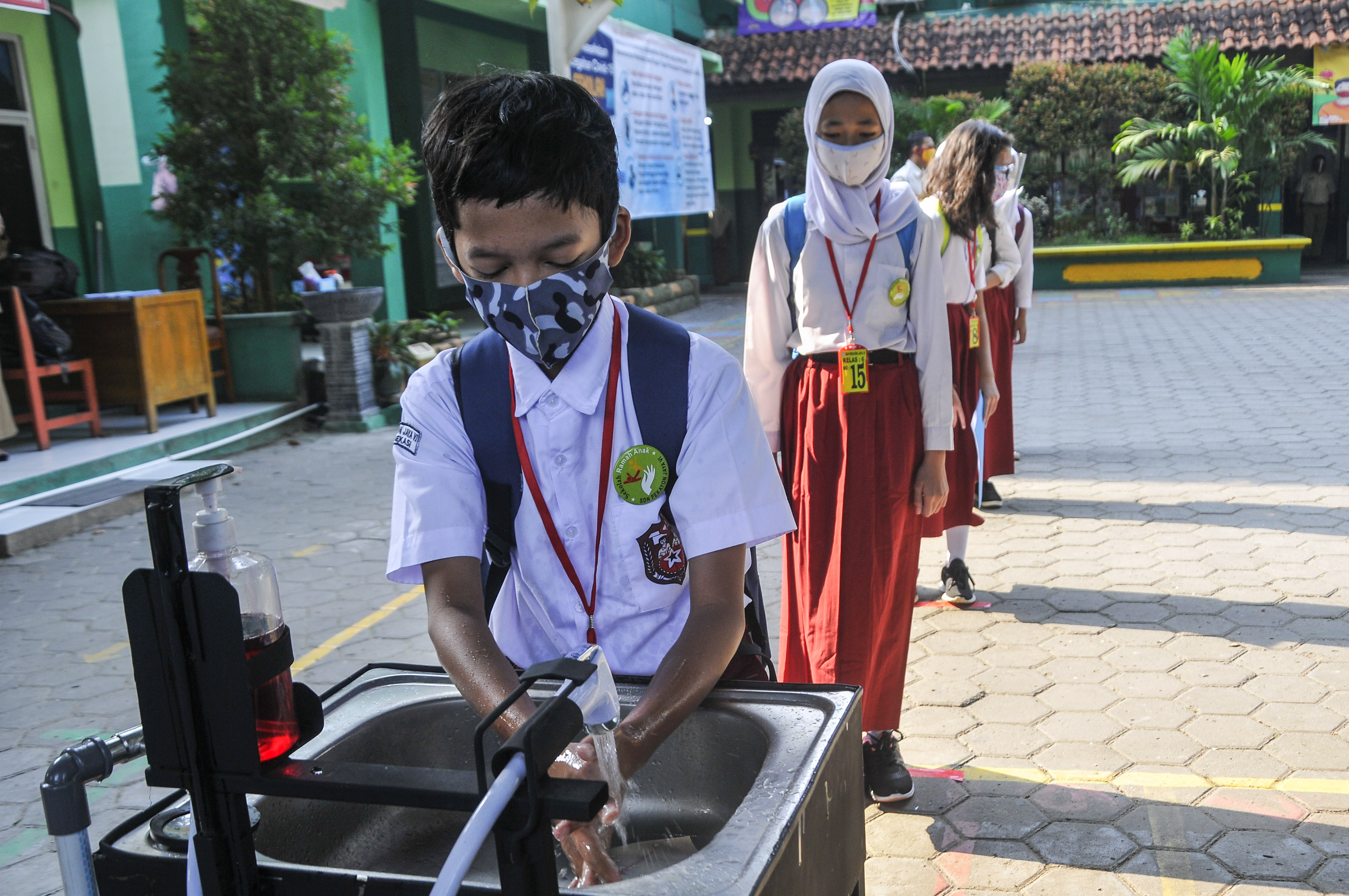 Sekolah di Aceh Utara Perketat Protokol Kesehatan
