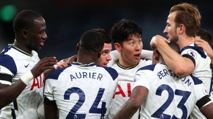 Kalahkan Manchester City, Tottenham Hotspur Pimpin Puncak Klasemen Liga Inggris