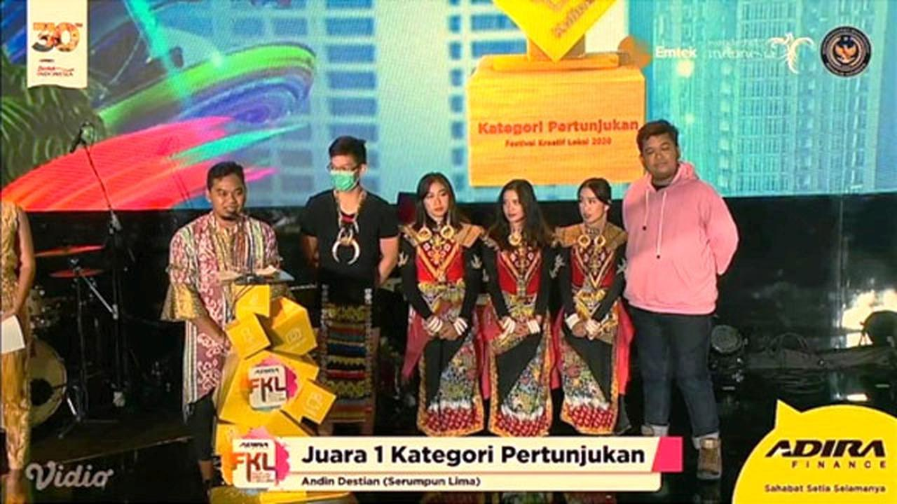 Ajang Kreatif Lokal Award 2020, Aceh Documentary Sabet Dua Penghargaan