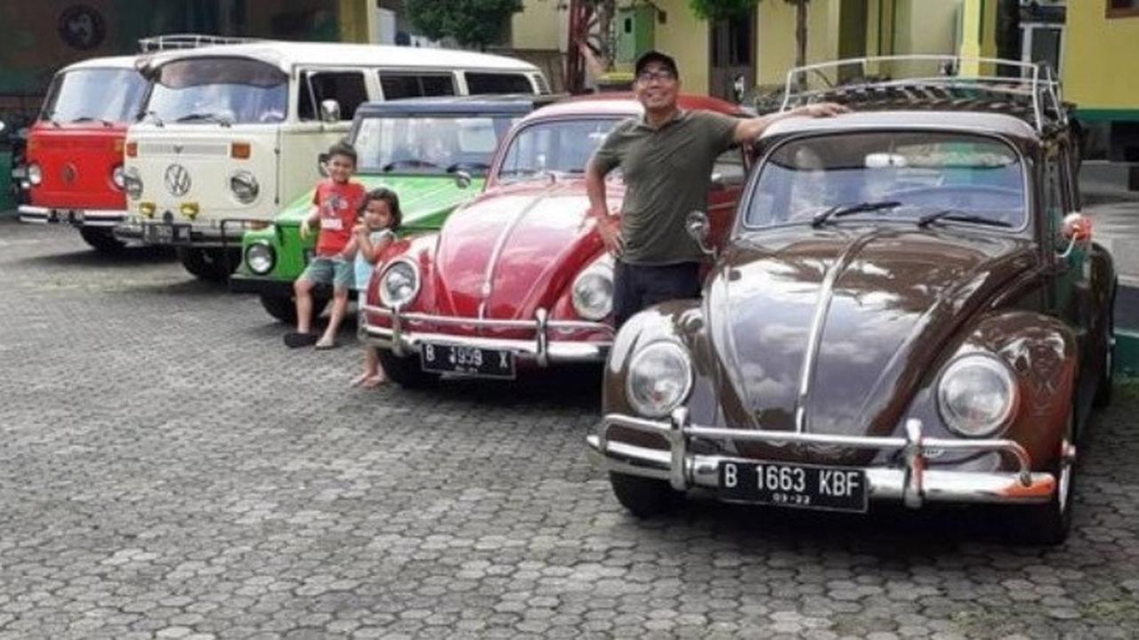 Biem Benyamin Putra Seniman Benyamin Sueb Kolektor VW Klasik