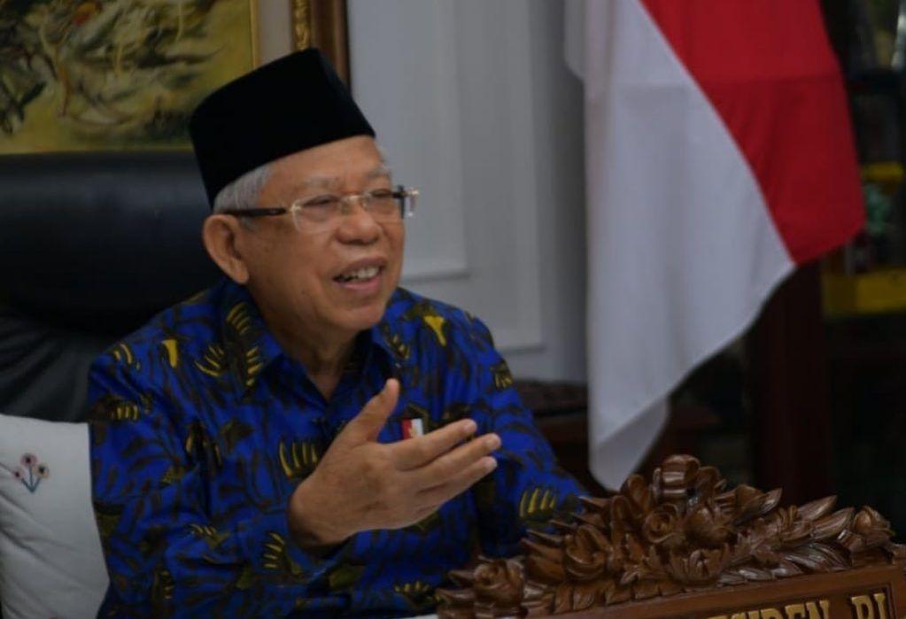 Wapres Ma'ruf Amin Dorong Digitalisasi Layanan Keuangan Syariah