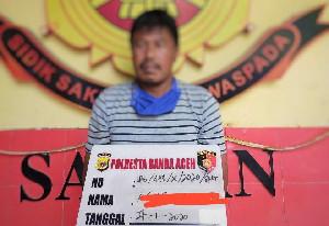Setubuhi Anak Tirinya yang Masih Remaja di Banda Aceh, Pelaku Ditangkap Polisi