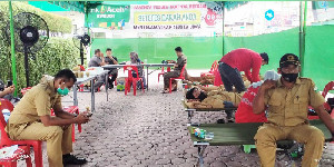 Bantu Kebutuhan Darah, Bank Aceh Syariah Bireuen Gelar Donor Darah