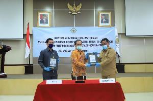 Hebat, Pemko Banda Aceh Raih 12 WTP dari BPK, Menkeu Kasih Penghargaan