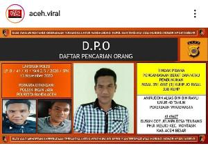 Polresta Banda Aceh Keluarkan DPO Pembacokan di Lambaro