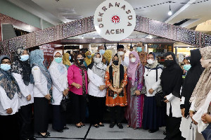 Produk Kerajinan Aceh 'Diborong' Menteri PPPA