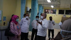 Sekda Aceh Tinjau Pelayanan RSUDZA
