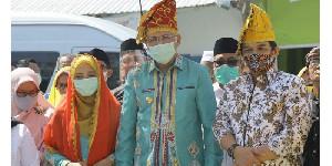 Peresmian Masjid Bantuan Masyarakat Aceh Disambut Gembira Warga Kota Palu