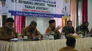 Pemerintah Aceh Besar Tetapkan Jadwal Meugo Thoen 2020