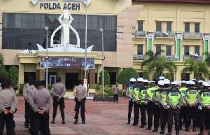 521 Personel Polda Aceh Disiapkan Amankan Pelantikan Nova Iriansyah