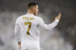 Hazard dan Casemiro Positif Corona, Tidak Bisa Bela Real Madrid