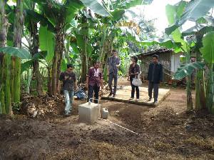 Mahasiswa KKN Unimal Kelola Sampah Rumah Tangga Jadi Biogas