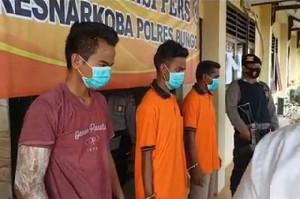 Polres Bungo Tangkap Dua Bandar Sabu, Satu Mahasiswa Asal Aceh
