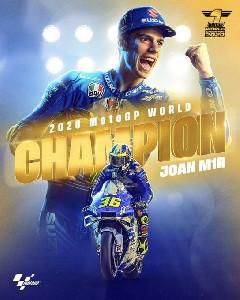Juara MotoGP 2020  Resmi Joan Mir, Congrats!