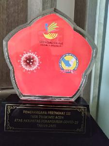 TKSK Aceh Raih Juara III Terbaik Tingkat Nasional Tahun 2020