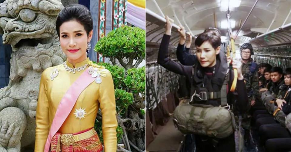 Foto Seksual Selir Kerajaan Thailand Bocor ke Publik