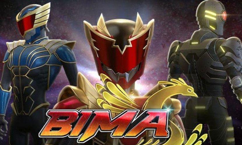 Bima S Seri Animasi 3D Superhero Indonesia Tayang di Vision+