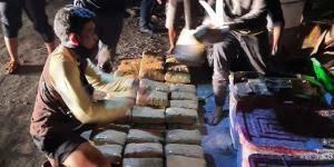 Lima Orang Tersangka Narkotika di Ringkus BNN RI, 141 Kilogram Ganja di Temukan