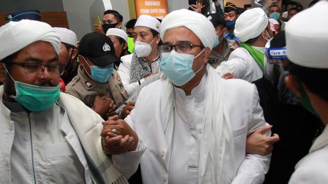 Pasca Tiba di Jakarta, 4 Hari Lagi Habib Rizieq Nikahkan Anaknya Najwa Shihab
