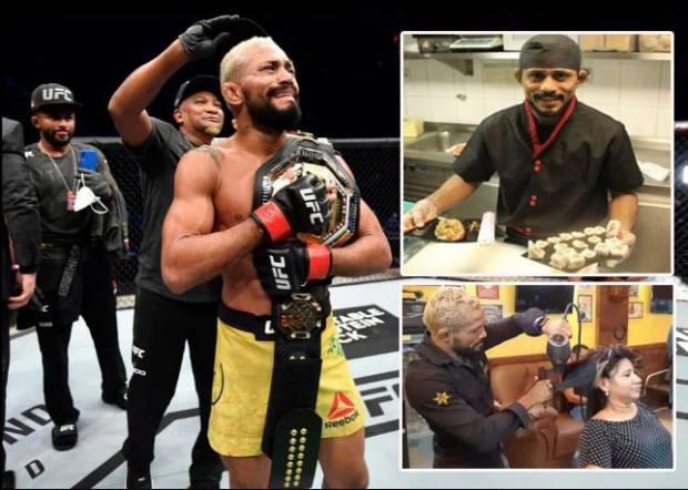 Jawara UFC Deiveson Figueiredo, Dulu Ngojek, Pernah Tukang Batu