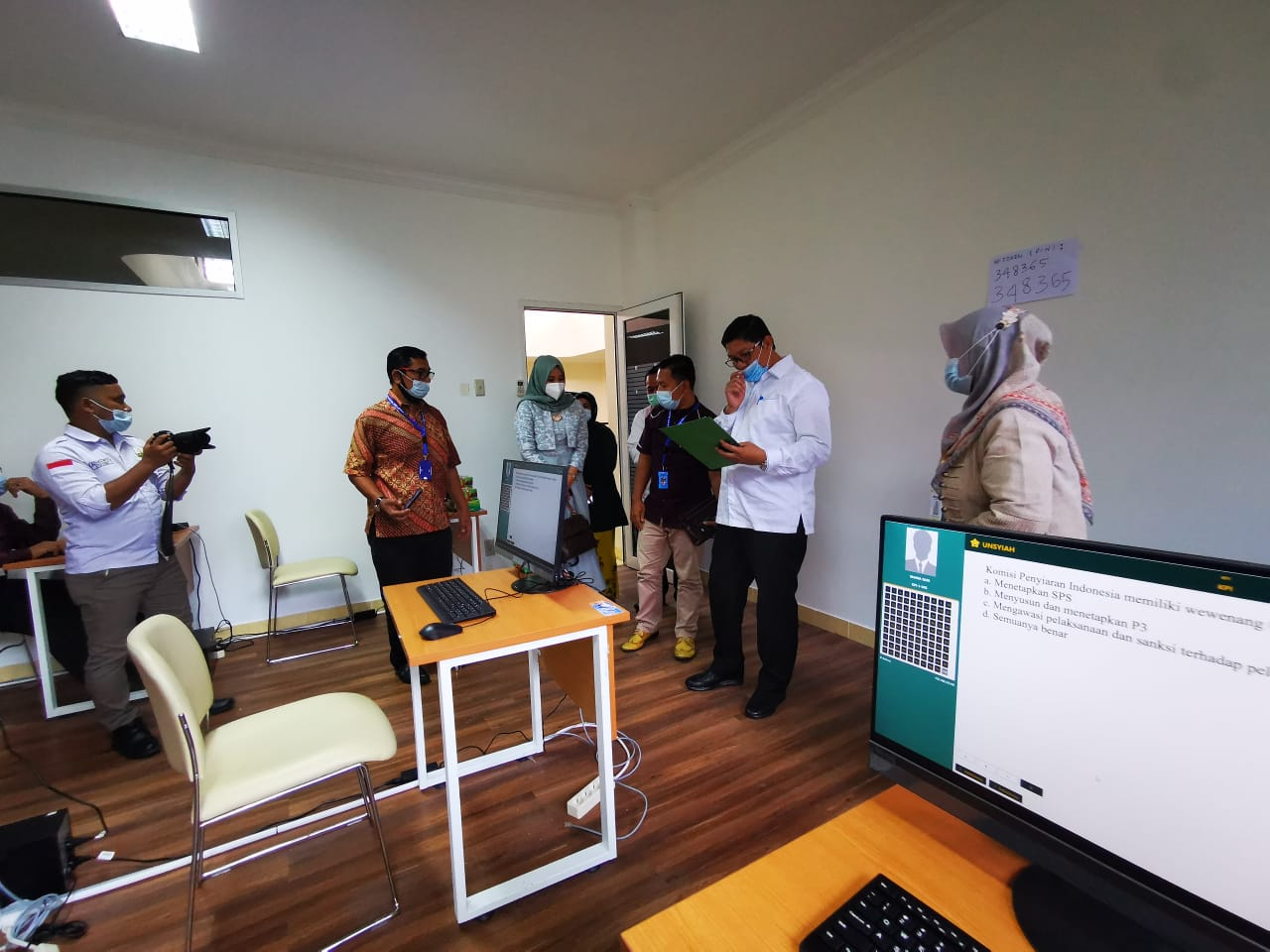 Komisi I DPRA Tinjau Tes Kompetensi Komisi Penyiaran Aceh
