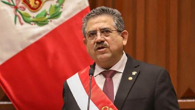 Belahan Kejadian Dunia, Presiden Peru Hengkang hingga WNI di Inggris Meninggal