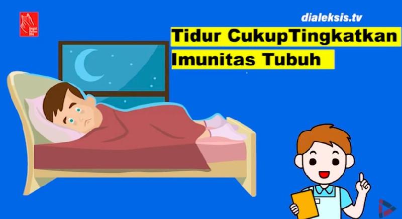 Tidur yang Cukup Tingkatkan Imunitas Tubuh