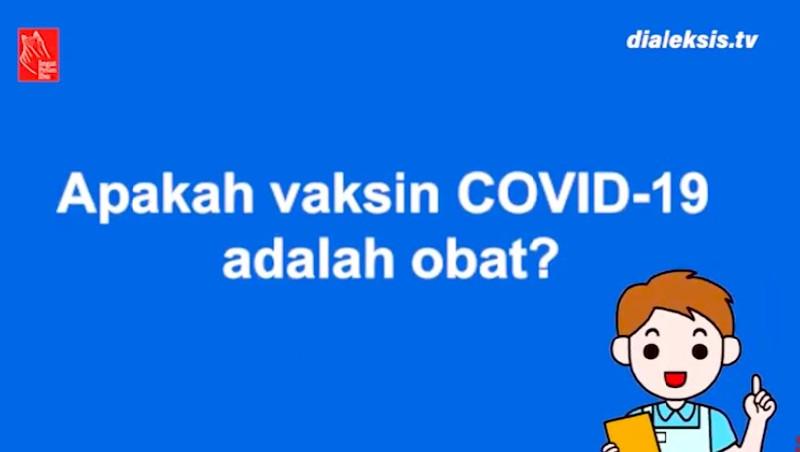 Motion Graphics: Apakah Vaksin COVID 19 Adalah Obat?
