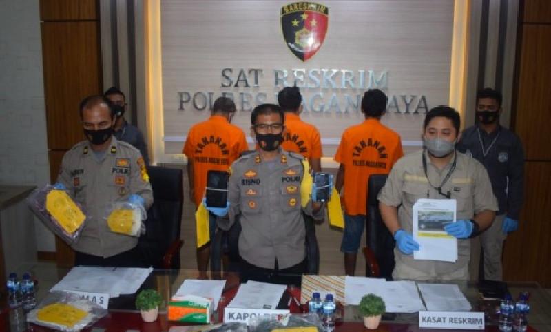 Polres Nagan Raya Berhasil Ungkap Kasus Pidana Curas