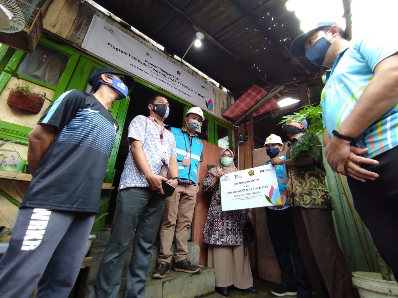 Virtual Charity Run and Ride PLN, 2.000 Rumah Dapat Listrik Gratis di Sumatera dan Kalimantan Barat
