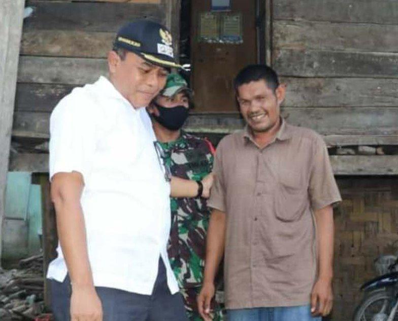 Terkait Keluarga Tuna Netra Miskin di Pijay, Wabup Janji Bantu