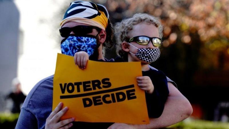 Pejabat Pemilihan AS Sebut Pilpres 2020 Paling Bersih