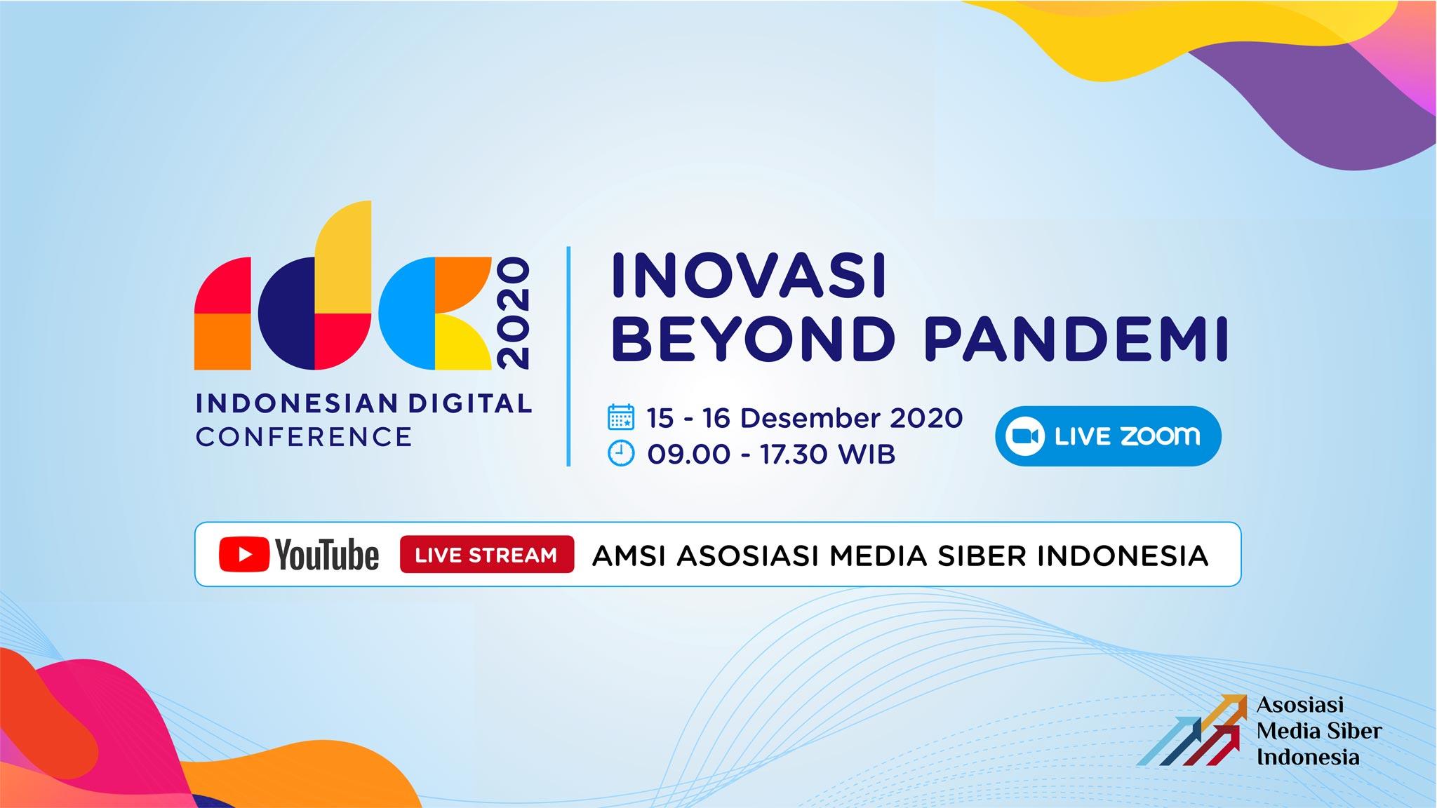 Presiden Jokowi Akan Membuka Indonesia Digital Conference 2020
