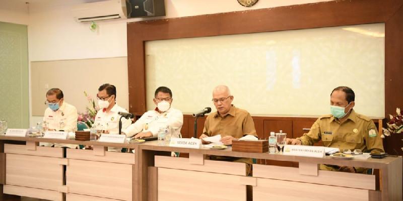 Tim Kemenko Polhukam ke Aceh, Pemerintah Paparkan Strategi Penanganan Covid-19
