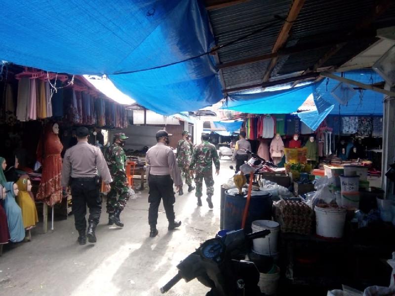 Kunjungi Pasar, Satgas Covid-19 Gelar Patroli Pendisiplinan Protokol Kesehatan