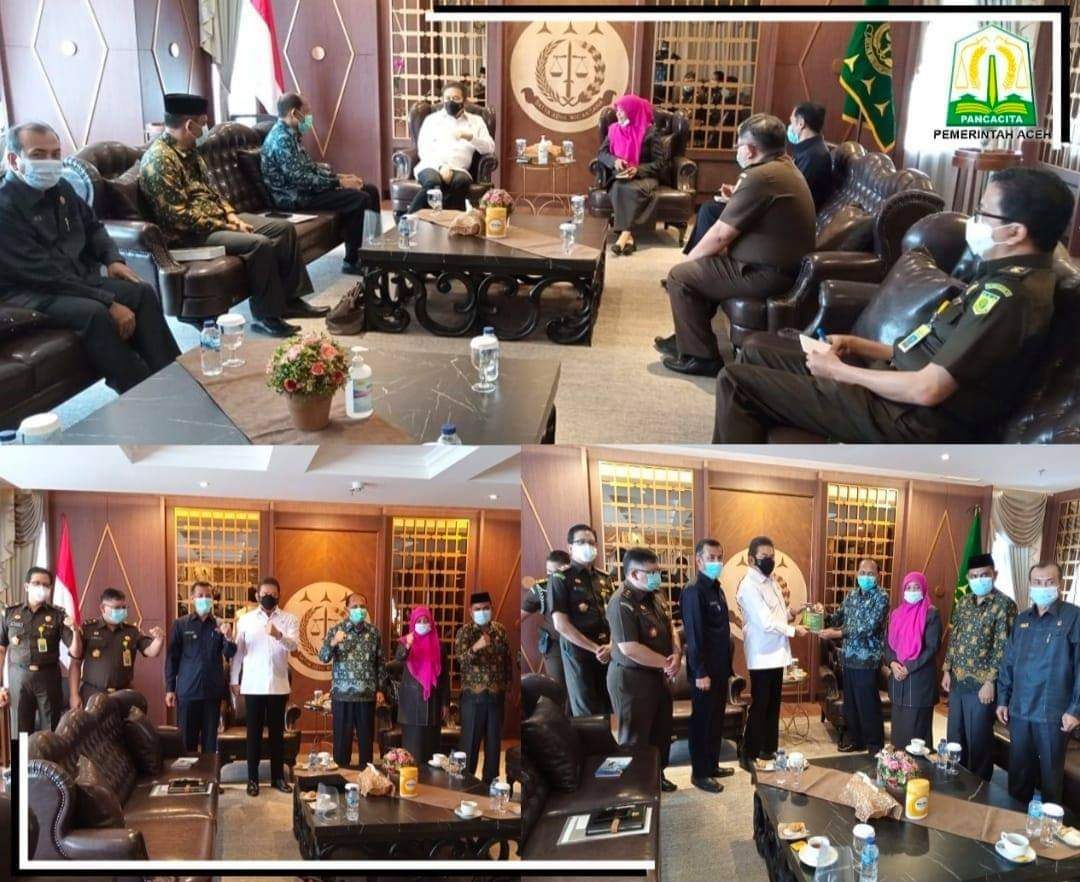 Temui Jaksa Agung, Pemerintah Aceh Minta Perkara Jinayat Dilimpahkan ke Mahkamah Syar'iyah