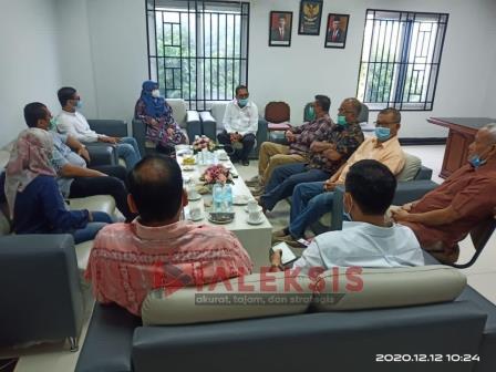 KPK Silaturrahmi ke Kantor Kadin Aceh