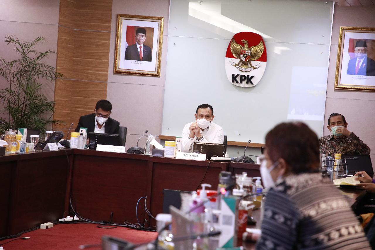 """Pimpinan dan Dewan Pengawas KPK Serap Aspirasi Lewat Kegiatan """"KPK Mendengar"""""""
