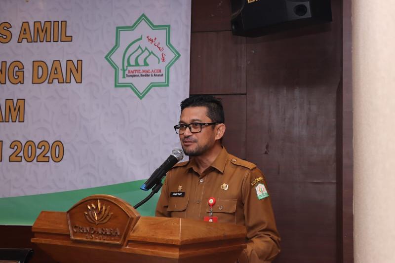 Baitul Mal Aceh Optimis Pemasukan Zakat 2020 Capai Target, Berapa Targetnya?