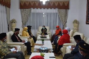 Dyah Erti Idawati Laksanakan Rakor Pokja Bunda PAUD di Aceh Tengah