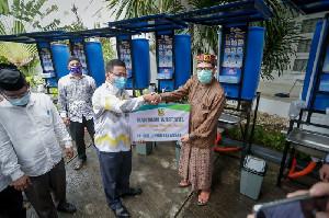 Dukung Penerapan Prokes, Pemko Banda Aceh Bagikan 72 Wastafel Portable